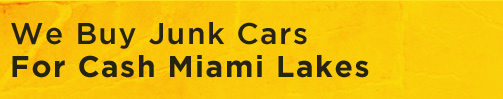 We Buy Junk Cars For Cash Miami Lakes logo